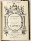 DURU, CHIVOT et LECOCQ (Ch.). La princesse des Canaries. opéra bouffe en 3 actes de Duru et Chivot. Musique de Ch. Lecocq. Partition, chant et paroles