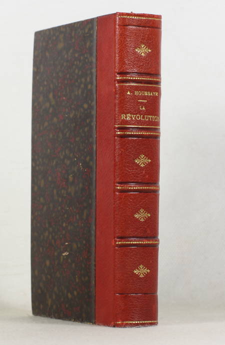 HOUSSAYE - Galerie du XVIIIe siècle. La Révolution - 1876 - Relié - Photo 0 - livre de bibliophilie