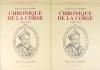 FILIPPINI - Chronique de la Corse (1560-1594) - 2 volumes - Photo 0 - livre moderne