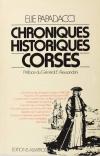 PAPADACCI (Elie). Chroniques historiques corses