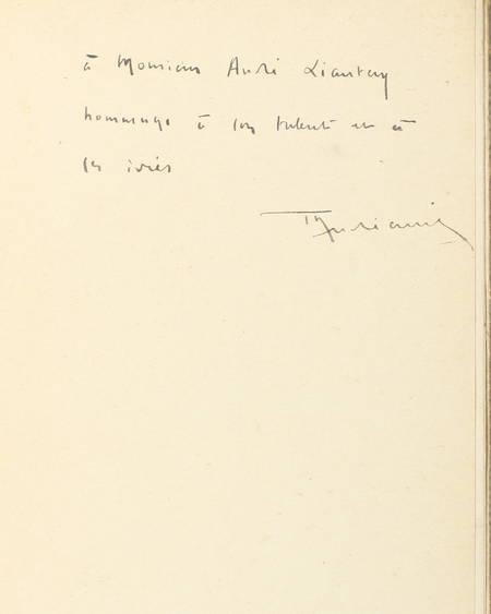ANDREANI - Le fascisme et la Corse - 1939 - Envoi de l'auteur - Photo 0 - livre rare