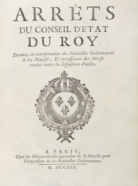 Conférences des ordonnances de Louis XIV, roy de France - 1719 - 2 vol. in-4 - Photo 2 - livre de bibliophilie