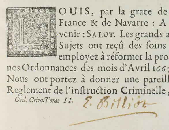 Conférences des ordonnances de Louis XIV, roy de France - 1719 - 2 vol. in-4 - Photo 4 - livre de bibliophilie