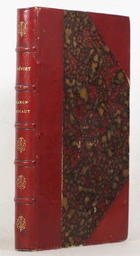 PREVOST - Histoire du chevalier des Grieux et de Manon Lescaut [1880] - Photo 0 - livre rare