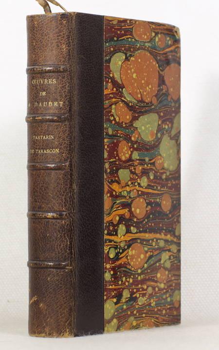 Alphonse Daudet - Tartarin de Tarascon - Lemerre - 1886 - Relié - Photo 0 - livre de collection