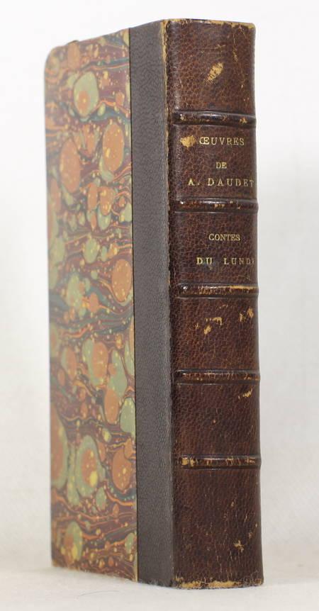 Alphonse Daudet - Contes du lundi - Lemerre - (vers 1890) - Relié - Photo 0 - livre de bibliophilie