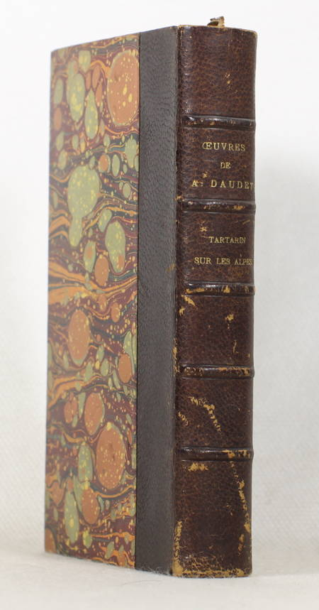 Alphonse Daudet - Tartarin sur les Alpes - Lemerre - 1888 - Relié - Photo 0 - livre du XIXe siècle