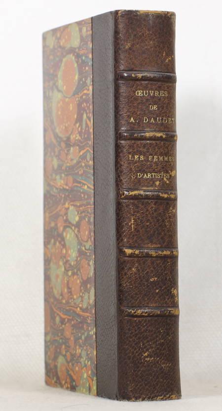 Alphonse Daudet - Les femmes d'artistes - Helmont - Lemerre - 1885 - Relié - Photo 0 - livre d'occasion