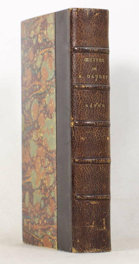 DAUDET (Alphonse). Sapho, livre rare du XIXe siècle