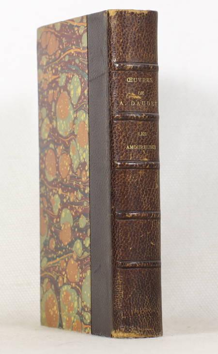 DAUDET (Alphonse). Les amoureuses. Poèmes et fantaisies. 1857-1861, livre rare du XIXe siècle
