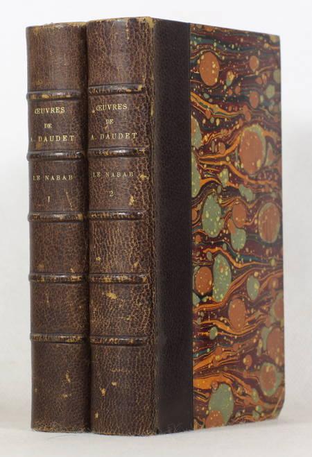 Alphonse Daudet - Le nabab - Lemerre - 1887 - Relié - 2 volumes - Photo 0 - livre de collection