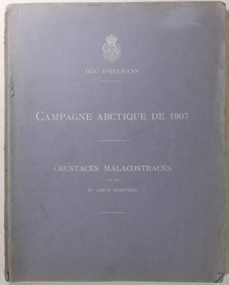 STAPPERS - Crustacés malacostracés - Campagne arctique de 1907 - Duc d Orléans - Photo 1 - livre de collection