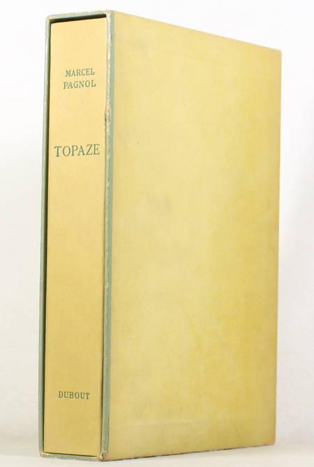 Marcel PAGNOL - Topaze - 1952 - Illustré en couleurs par DUBOUT - Photo 1 - livre rare