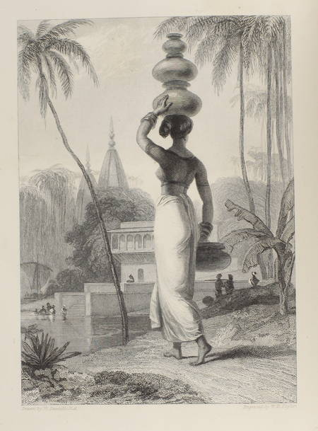 URBAIN (P. J. Auguste). Tableaux pittoresques de l'Inde. Traduction de l'Oriental Annual