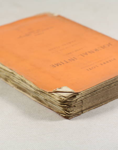 LOTI (Pierre). Journal intime. 1878-1881. Publié par son fils, Samuel Viaud