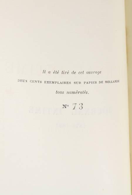 LOTI - Journal intime - 1878-1881 - Publié par son fils - 1925 EO 1/200 Hollande - Photo 1 - livre rare