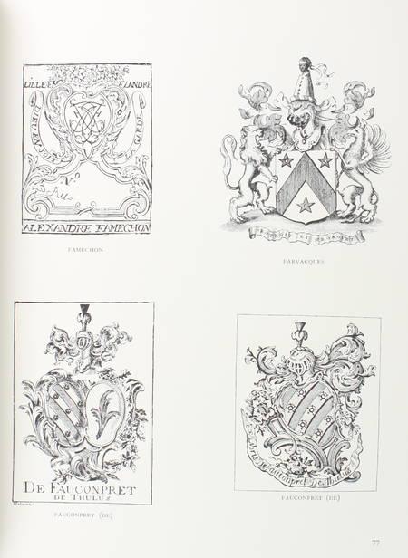 DENIS du PEAGE - Ex-libris de Flandres de d'Artois - Album de planches - 1934 - Photo 1 - livre d'occasion