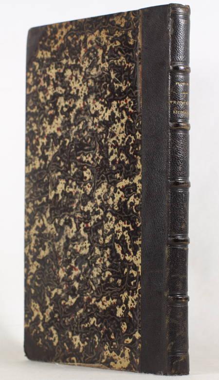 FLINIAUX - Législation concernant la propriété littéraire et artistique - 1878 - Photo 0 - livre d'occasion