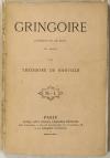 Théodore de BANVILLE - Gringoire. Comédie en un acte - 1866 - Photo 0, livre rare du XIXe siècle