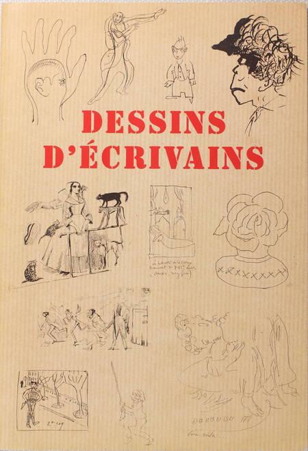 [Catalogue Bibliographie] Dessins d'écrivains - 1999 - Photo 0 - livre de bibliophilie