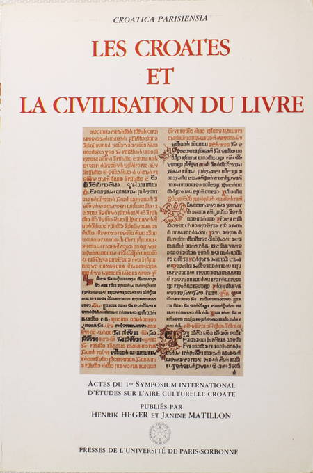 [Bibliographie Croatie] Les croates et la civilisation du livre - 1986 - Photo 0 - livre d'occasion