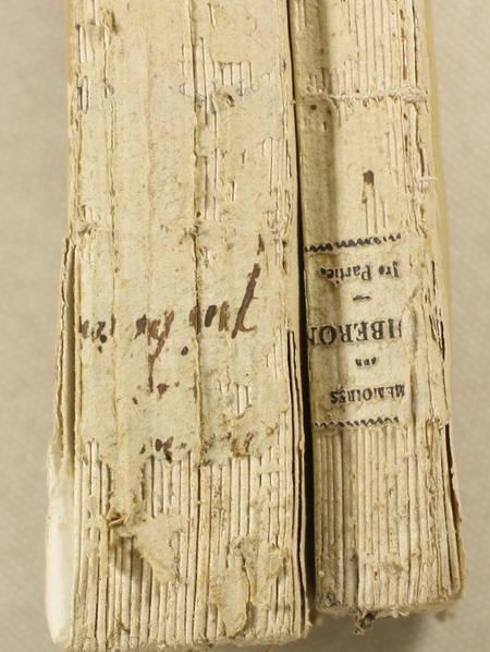 VILLENEUVE-LAROCHE-BARNAUD - Mémoires sur l'expédition de Quiberon - 1819 - Photo 2 - livre d'occasion