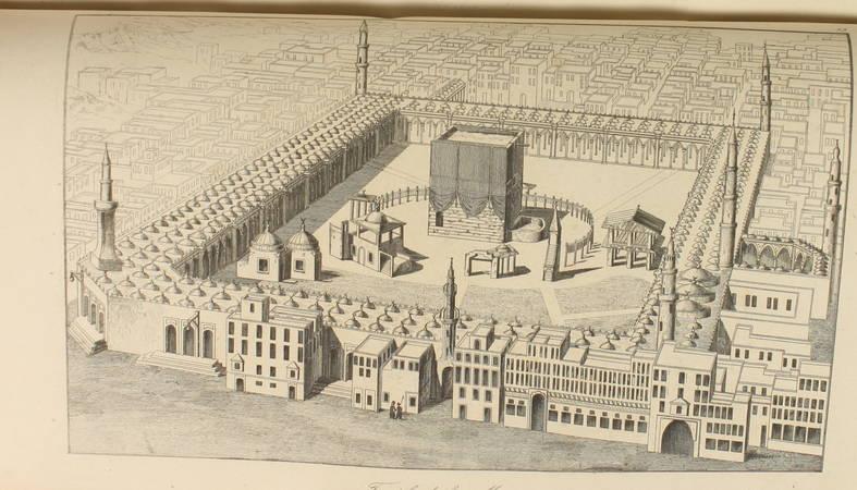 DESVERGERS - L Arabie - 1847 - 48 planches et une carte - Photo 3 - livre du XIXe siècle