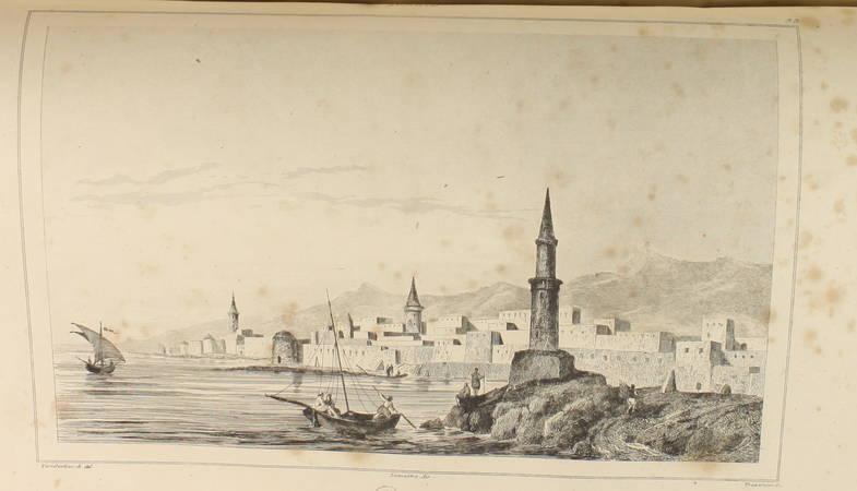 DESVERGERS - L Arabie - 1847 - 48 planches et une carte - Photo 4 - livre du XIXe siècle