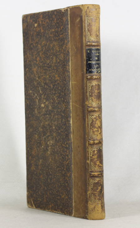 DUPOUY - La prostitution dans l'antiquité - Etude d'hygiène sociale - 1887 - Photo 1 - livre de bibliophilie