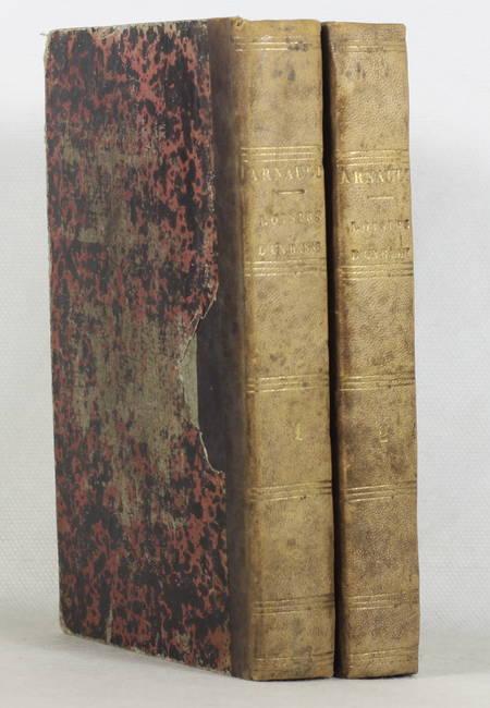ARNAULT (A.-V.). Les loisirs d'un banni, par A.-V. Arnault, ancien membre de l'Institut. Pièces recueillies en belgique, publiées avec des notes par M. Auguste Imbert, livre rare du XIXe siècle