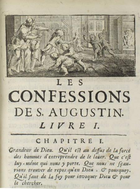 Les confessions de S. Augustin, traduction nouvelle - 1688 - Mariette - Photo 0 - livre d'occasion