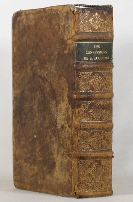 Les confessions de S. Augustin, traduction nouvelle - 1688 - Mariette - Photo 1 - livre d'occasion