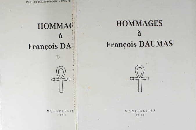 . Hommages à François Daumas