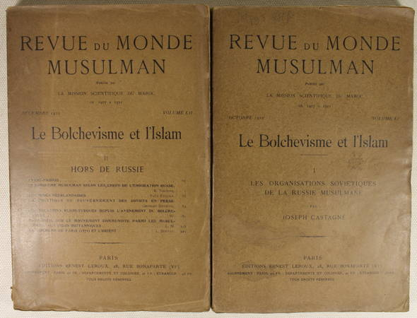 Le bolchevisme et l'Islam - 1922 - 2 volumes - Rare - Photo 0 - livre de collection