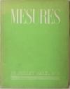 . Mesures. N°3. 15 juillet 1937