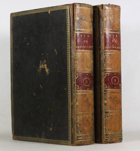 Ligny - Histoire de la vie de Jésus-Christ - 1804 - 2 vol. in-4 - Gravures - Photo 1, livre ancien du XIXe siècle