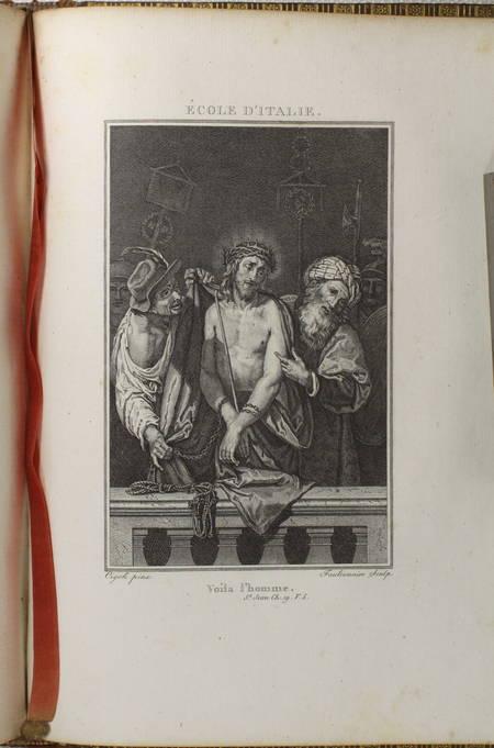 Ligny - Histoire de la vie de Jésus-Christ - 1804 - 2 vol. in-4 - Gravures - Photo 4, livre ancien du XIXe siècle
