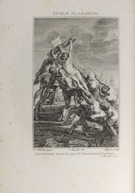 Ligny - Histoire de la vie de Jésus-Christ - 1804 - 2 vol. in-4 - Gravures - Photo 6, livre ancien du XIXe siècle