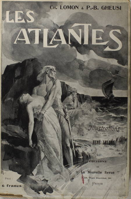 LOMON et GHEUSI - Les atlantes - Aventures des temps légendaires - 1905 - Photo 0 - livre moderne