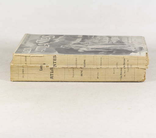 LOMON et GHEUSI - Les atlantes - Aventures des temps légendaires - 1905 - Photo 1 - livre rare