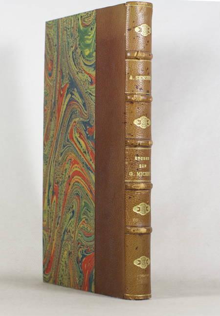 Alfred SENSIER - Etude sur Georges Michel - 1873 - - Photo 1 - livre du XIXe siècle