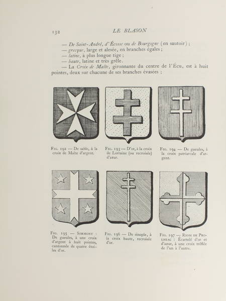 GHEUSI - Le blason, art héraldique et science des armoiries 1933 - 1/25 hollande - Photo 1 - livre de bibliophilie