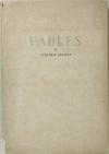 Stephen SEVERT - Fables - 1953 - EO 1/150 sur Alfama - Photo 0, livre rare du XXe siècle