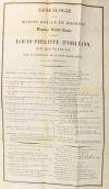 Recueil concernant la maison d Orléans - 1824-1830 - Précis généalogique, etc. - Photo 0, livre rare du XIXe siècle