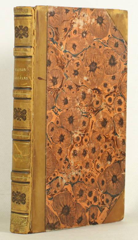Recueil concernant la maison d'Orléans - 1824-1830 - Précis généalogique, etc. - Photo 1 - livre romantique