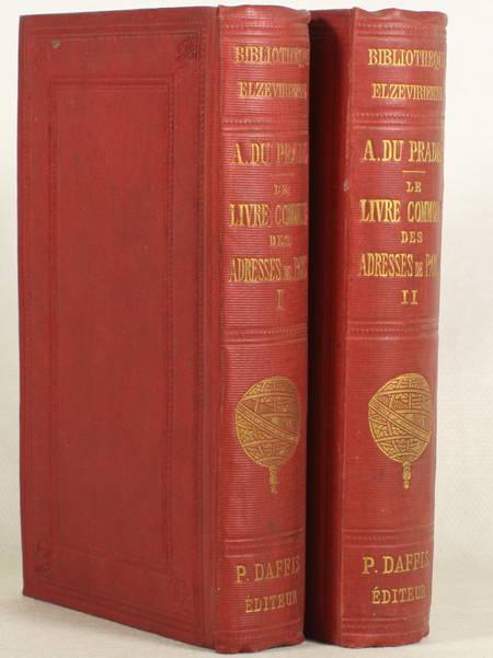 Le livre commode des adresses de Paris pour 1692 - 1878 - 2 volumes - Photo 0 - livre du XIXe siècle