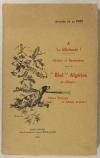 FONT (Auguste de la). A la billebaude ! Chasses et randonnées dans le bled algérien et ailleurs ...Chiens français ou chiens anglais