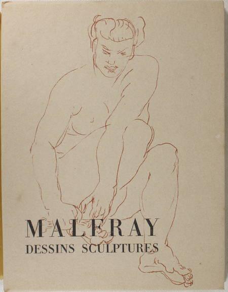 Jacques de LAPRADE - Charles Malfray - Dessins, sculptures - 1944 - Photo 1 - livre du XXe siècle