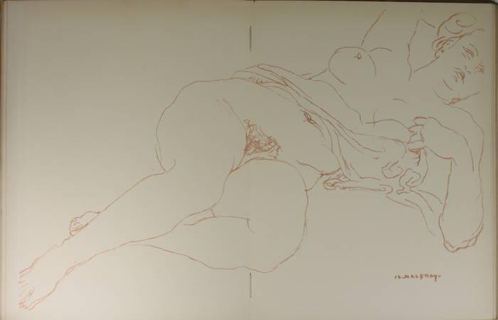 Jacques de LAPRADE - Charles Malfray - Dessins, sculptures - 1944 - Photo 2 - livre du XXe siècle