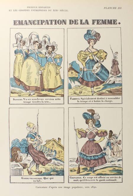 d'ALLEMAGNE - Prosper Enfantin et les grandes entreprises du XIXe siècle - 1935 - Photo 2 - livre de bibliophilie
